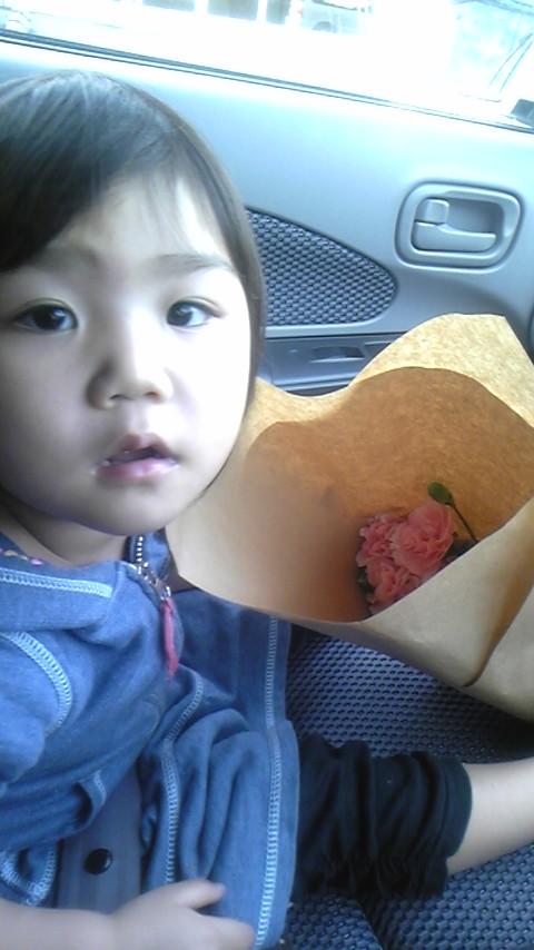 お花を買いに〜☆